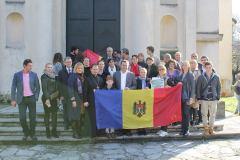 Împreună cu moldovenii noștri din Milano și Padova.