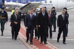 Este o onoare să îl avem în vizită pe Președintele nou ales al României, Klaus Iohannis