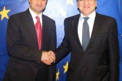 Preşedintele Comisiei Europene, Jose Manuel Barroso