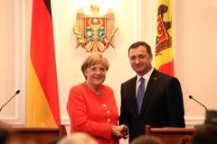 Vizita cancelarului german Angela Merkel la Chişinău
